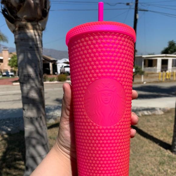 Starbucks Pink Studded cup